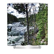 Yellowstone River II Shower Curtain