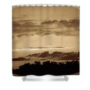 Yesteryears Sunset Shower Curtain