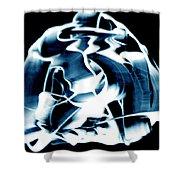 Ying Yang Paint And Photo Shower Curtain