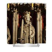 York Minster's Choir Screen Shower Curtain