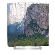 Yosemite Bridal Veil Fall Shower Curtain