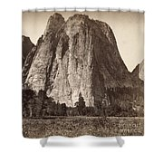 Yosemite: Cathedral Rock Shower Curtain