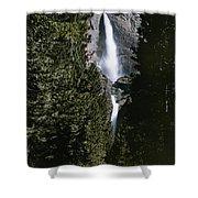 Yosemite Falls, Yosemite National Park Shower Curtain