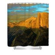 Yosemite Golden Dome Shower Curtain
