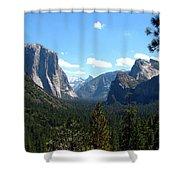 Yosemite Panorama Shower Curtain