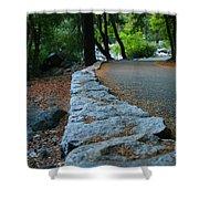 Yosemite Walk Way Shower Curtain