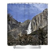 Yosemite Water Fall Shower Curtain