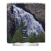 Yosemite Waterfall Shower Curtain