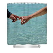 You And Me. Togetherness Shower Curtain