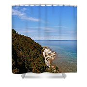 You Can See For Miles Shower Curtain