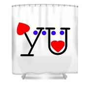 You Shower Curtain