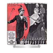 You Love Me Shower Curtain by Mel Thompson