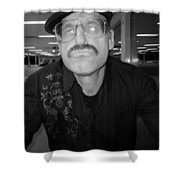 You Taulking To Me Shower Curtain by Kym Backland