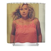 You'll Be Here In Me Shower Curtain
