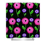 Young Florals  Shower Curtain