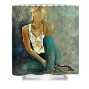 Young Girl 562190 Shower Curtain