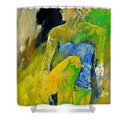 Young Girl 572180 Shower Curtain
