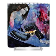 Young Girl 662160 Shower Curtain