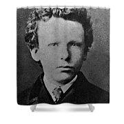 Young Vincent Van Gogh, Dutch Painter Shower Curtain