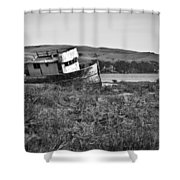 Young Visitor Shower Curtain