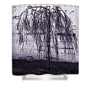 Young Weeper Shower Curtain