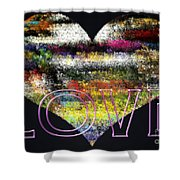 Your Heart Is My Pinata Shower Curtain