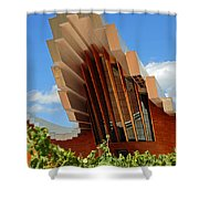 Ysios Winery Spain Shower Curtain