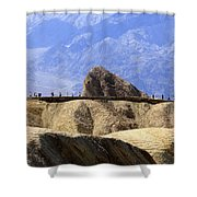 Zabriske Point Shower Curtain