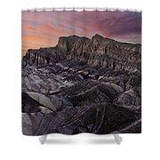 Zabriske Sunset Shower Curtain