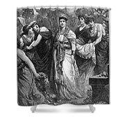 Zenobia (d. After 274 A.d.) Shower Curtain