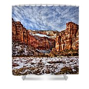 Zion Canyon In Utah Shower Curtain