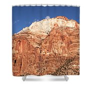 Zion Red Rock Shower Curtain