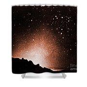 Zodiacal Light Shower Curtain