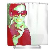 Zoe Shower Curtain by Naxart Studio