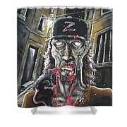 Zombie Tom Shower Curtain