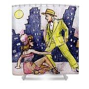 Zoot Suit Shower Curtain