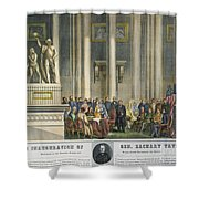 Z.taylor: Inauguration Shower Curtain by Granger