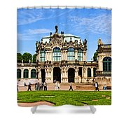 Zwinger Palace - Dresden Germany Shower Curtain