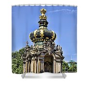 Zwinger Palace Crown Gate Shower Curtain