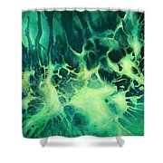 ' Garden Of Light ' Shower Curtain