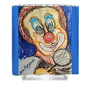 Happy Clown Shower Curtain