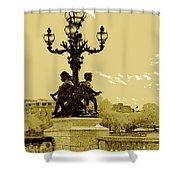 # 10 Paris France Shower Curtain