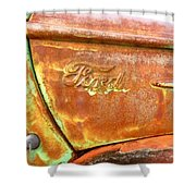 1946 Ford Truck  Shower Curtain
