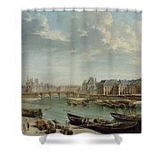 A View Of Paris Shower Curtain