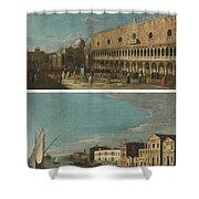 Active Venice Circa  Shower Curtain