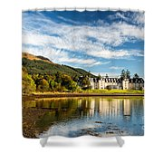 Ardgartan On The Banks Of Loch Long Shower Curtain