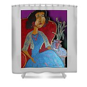 Aunt Elise Shower Curtain