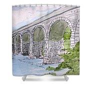 Ballydehob Bridge Ireland Shower Curtain
