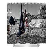 Battle Of Honey Springs V15 Shower Curtain