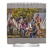 Battle Of Honey Springs V2 Shower Curtain
